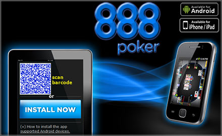 888 Poker App for Android and iPhone / iPad