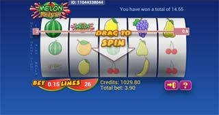 mobile slots melon madness